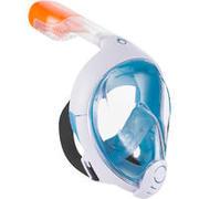 Máscara de buceo en superficie Easybreath azul navy