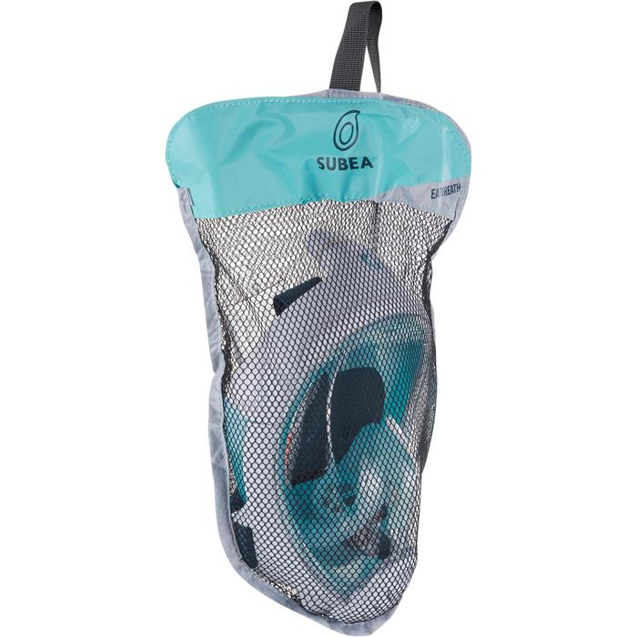 Máscara de Snorkeling à superfície Easybreath Júnior (6-10 anos/tam XS) Azul