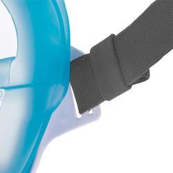 Máscara de snorkel en superficie Easybreath azul marino