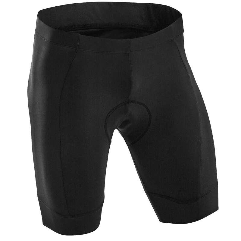 vendita calda online 4b078 ec286 Pantaloncini uomo RC 100 neri TRIBAN - ABB BICI CORSA CICLOTUR ...