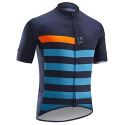 公路車炎熱氣候短袖車衣RC500 - 藍色