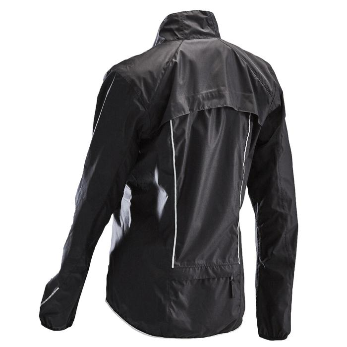 Fahrrad-Regenjacke Rennrad RC 500 Damen schwarz