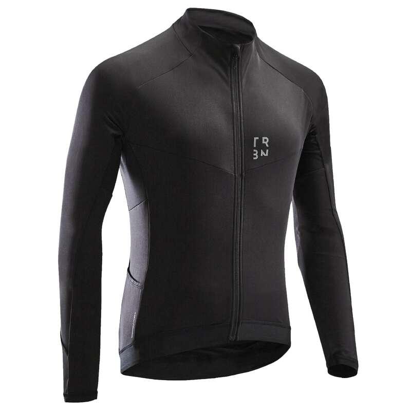Теплая мужская экипировка для прохладной погоды - CYCLING Велоспорт - Джемпер 500 муж. TRIBAN - Семьи и категории