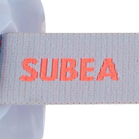 Маска для снорклинга из закаленного стекла взрослая SNK 520