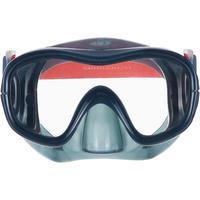 Máscara de buceo en apnea FRD 120 gris oscuro