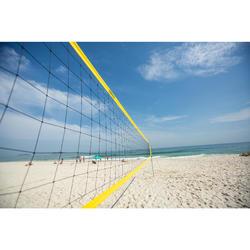 Beachvolleyballnetz Set BV900 gelb