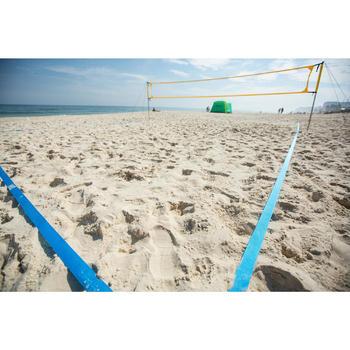 Délimitations de terrain de beach-volley BV900 bleues