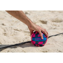 Mini ballon de beach-volley BV100 rose et bleu