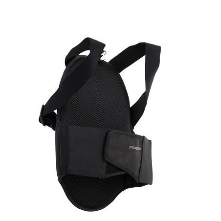 Protector de espalda para equitación. Niños SAFETY. Negro.