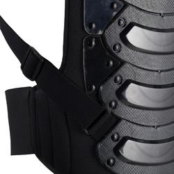 Rückenprotektor Safety Erwachsene schwarz