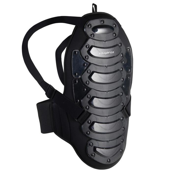 Rugprotector Safety voor volwassenen ruitersport zwart