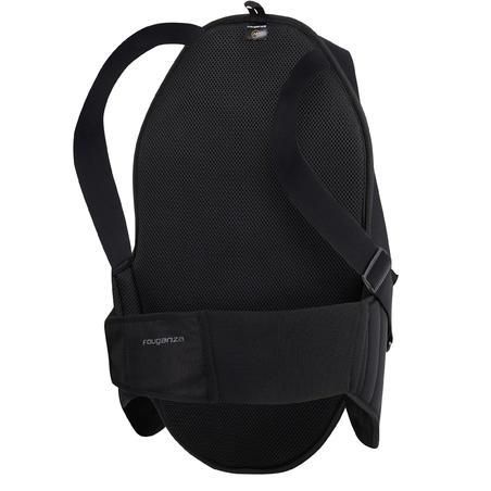 מגן בטיחות לגב לרוכבים מבוגרים - שחור