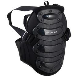 Proteção dorsal para equitação SAFETY Criança preto