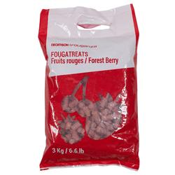 Friandises équitation cheval et poney FOUGATREATS fruits rouges - 3 KG