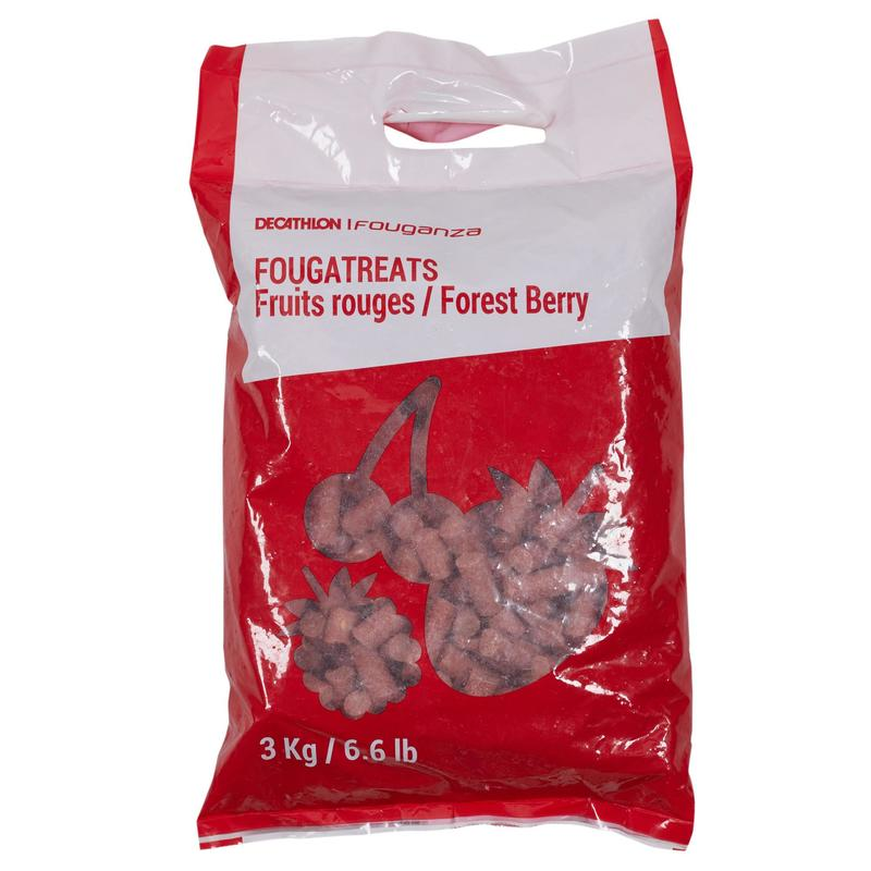 Fougatreats Horse Riding Treats For Horse/Pony 3kg - Red Berries