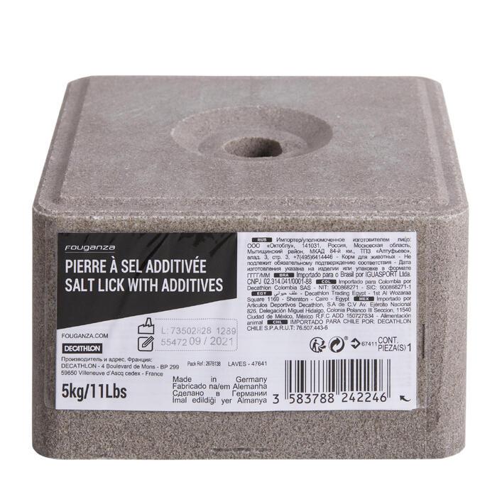 Piedra de sal con aditivo equitación caballo y poni - 5 kg