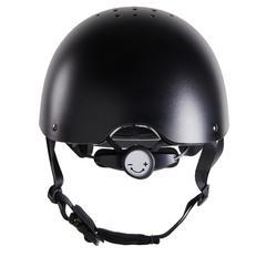Rijhelm ruitersport 100 zwart