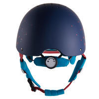 120 Riding Helmet - Navy/Pink