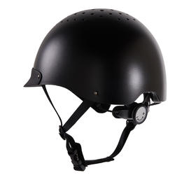 100 Horseback Riding Helmet - Black