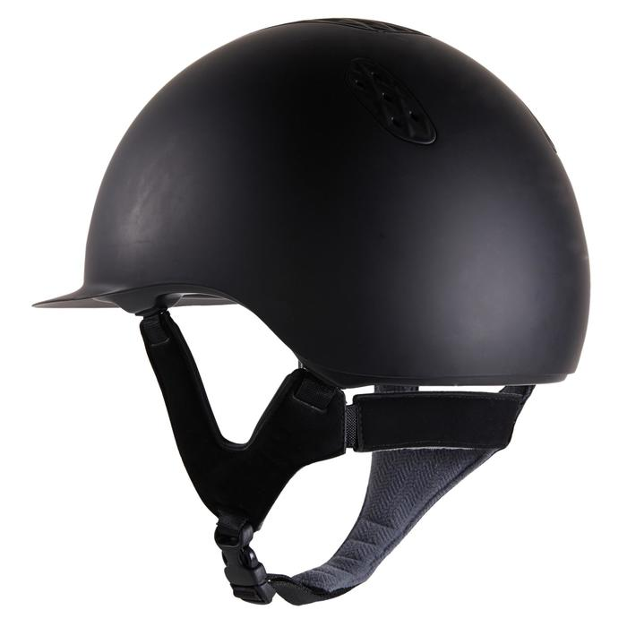 Casque équitation 520 noir mat