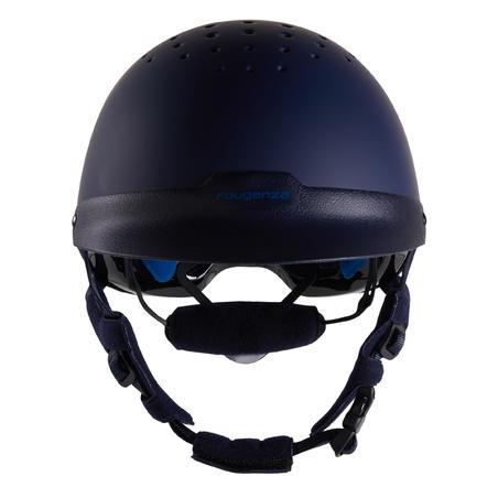 120 Riding Helmet - Navy/Royal Blue
