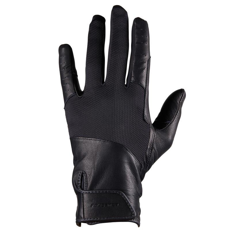 Gants d'équitation Homme - 960 noir