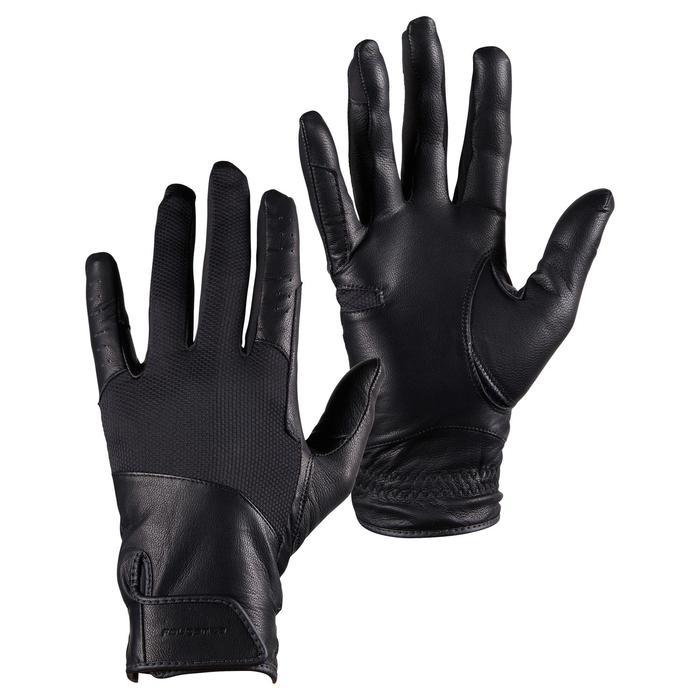 馬術手套960-黑色