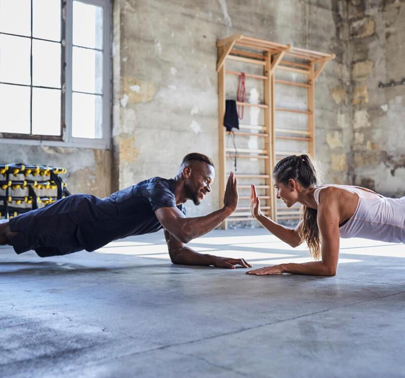 oefening fitness domyos