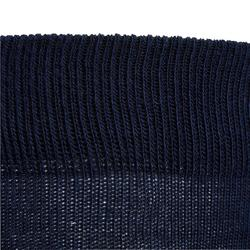 Chaussettes équitation garçon 500 BOY marine et bordeaux