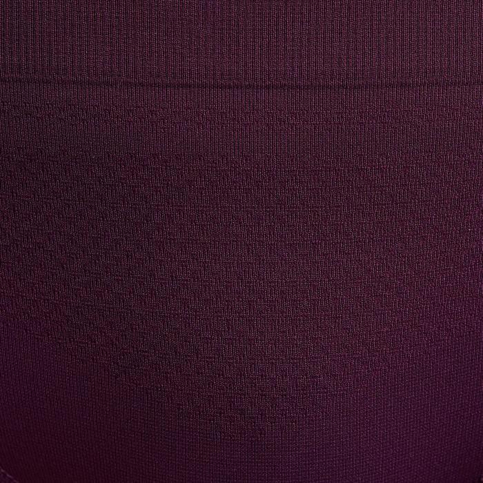 Braguita Running Kalenji Mujer Violeta Ciruela Transpirable