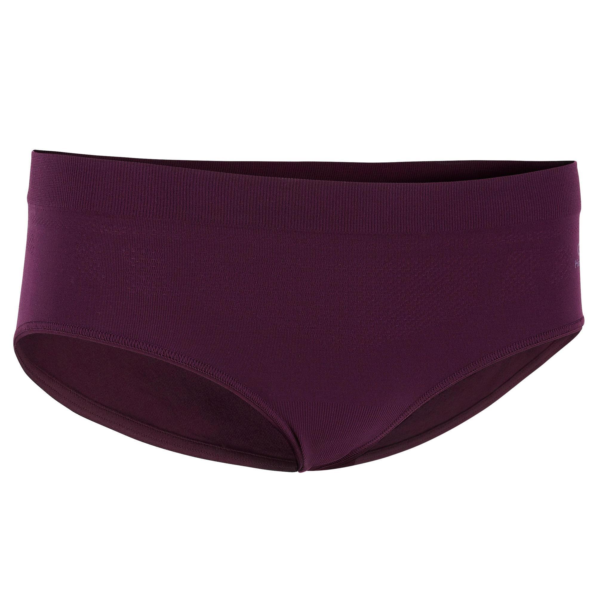 Funktionsunterhose Lauf-Slip atmungsaktiv pflaume | Sportbekleidung > Funktionswäsche | Violett | Kalenji