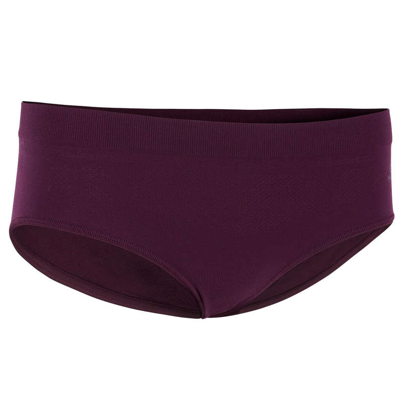 WOMAN RUNNING UNDERWEAR Running - RUNNING BRIEFS PRUNE KALENJI - Running Clothing