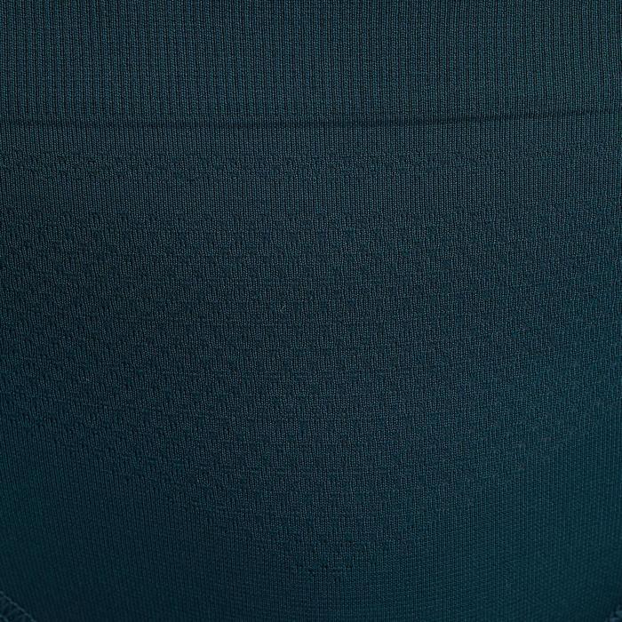 Ademende damesslip voor hardlopen turquoise