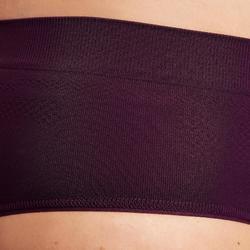 Funktionsunterhose Lauf-Slip atmungsaktiv pflaume