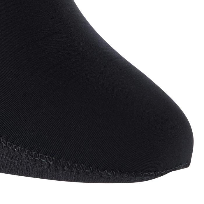 Chaussettes néoprène chasse sous-marine 3mm intérieur lisse Titanium