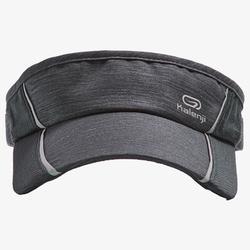 Lauf-Cap Erwachsene verstellbar schwarz