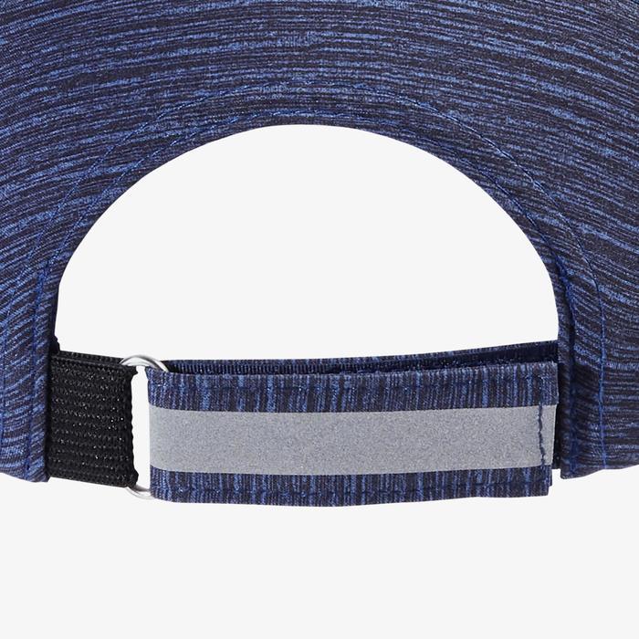 Lauf-Cap Erwachsene verstellbar blau Kopfumfang 51-63cm Erwachsene
