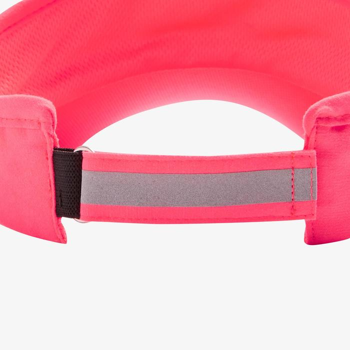 Visera Running Kalenji Ajustable Contorno Cabeza 50- 62 cm Rosa