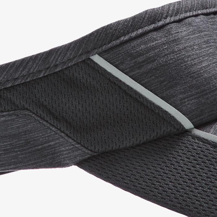 Lauf-Cap verstellbar Erwachsene schwarz
