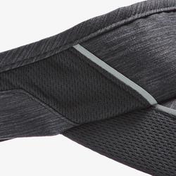 Visera Running Kalenji Ajustable Contorno Cabeza 50- 62 cm Violeta Negro