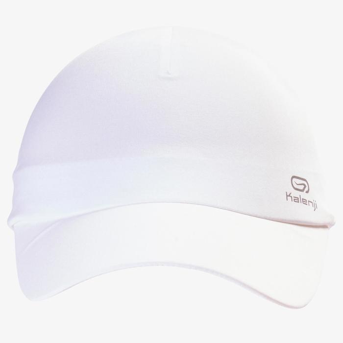 Lauf-Cap verstellbar Erwachsene weiß