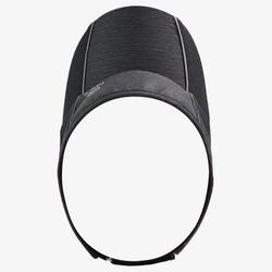 RUNNING VISOR ADJUSTABLE BLACK HEAD SIZE 50 TO 62 CM MEN WOMEN