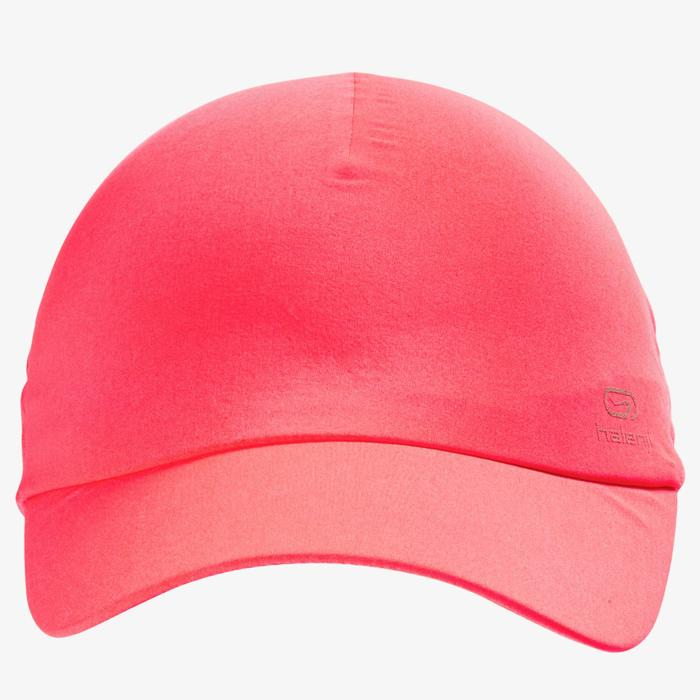 CASQUETTE RUNNING ROSE CORAIL FLUO AJUSTABLE Homme Femme