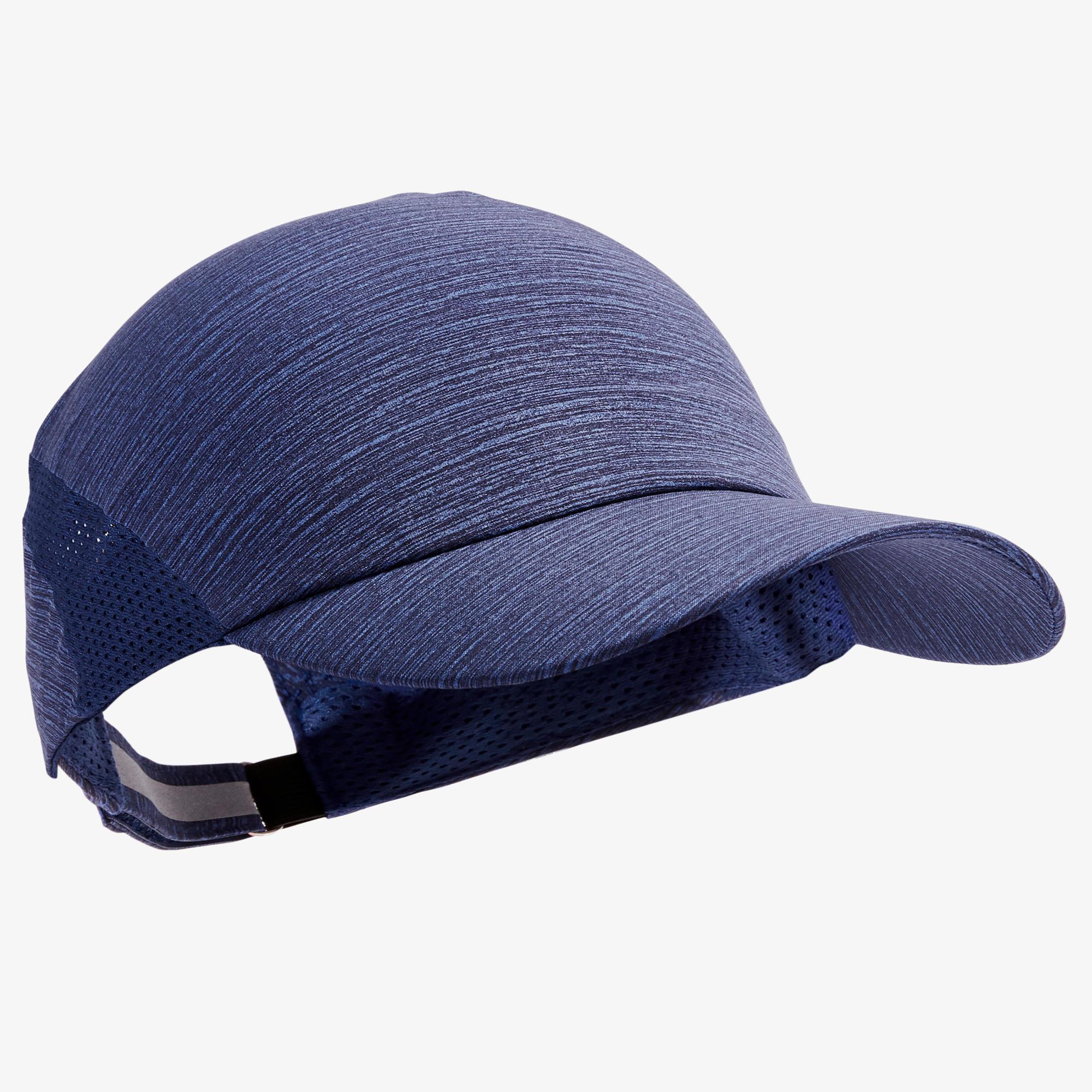 Lauf-Cap Erwachsene verstellbar blau Kopfumfang 51-63 cmErwachsene | Accessoires > Caps > Sonstige Caps | Blau | Kalenji