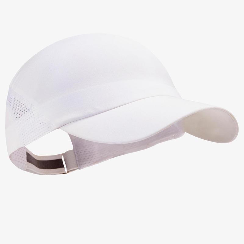 RUNNING CAP -  WHITE ADJUSTABLE