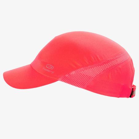 Unisex Running Adjustable Cap - neon coral pink