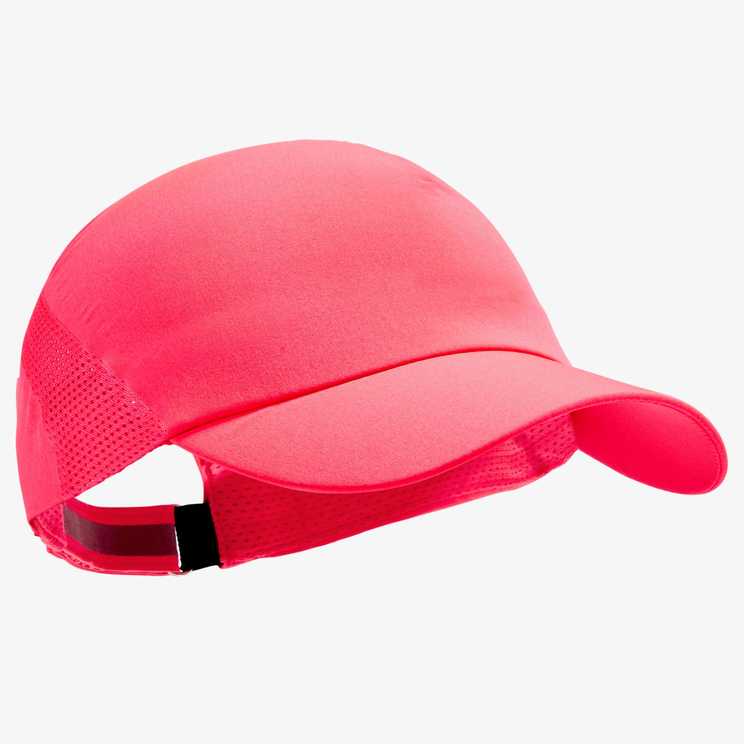 Lauf-Cap verstellbar Erwachsene rosa | Accessoires > Caps > Sonstige Caps | Rot - Rosa | Kalenji