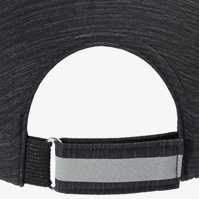 Hardlooppet Gemêleerd zwart Afstelbaar: hoofdomtrek 51 tot 63 cm heren dames