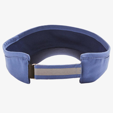 ADJUSTABLE RUNNING VISOR -  BLUE MEN WOMEN