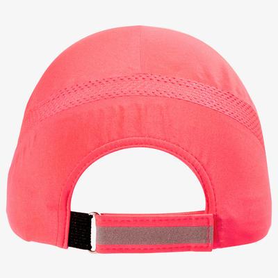RUNNING CAP PINK CORAL ADJUSTABLE: HEAD SIZE: 51 TO 63 CM Men Women